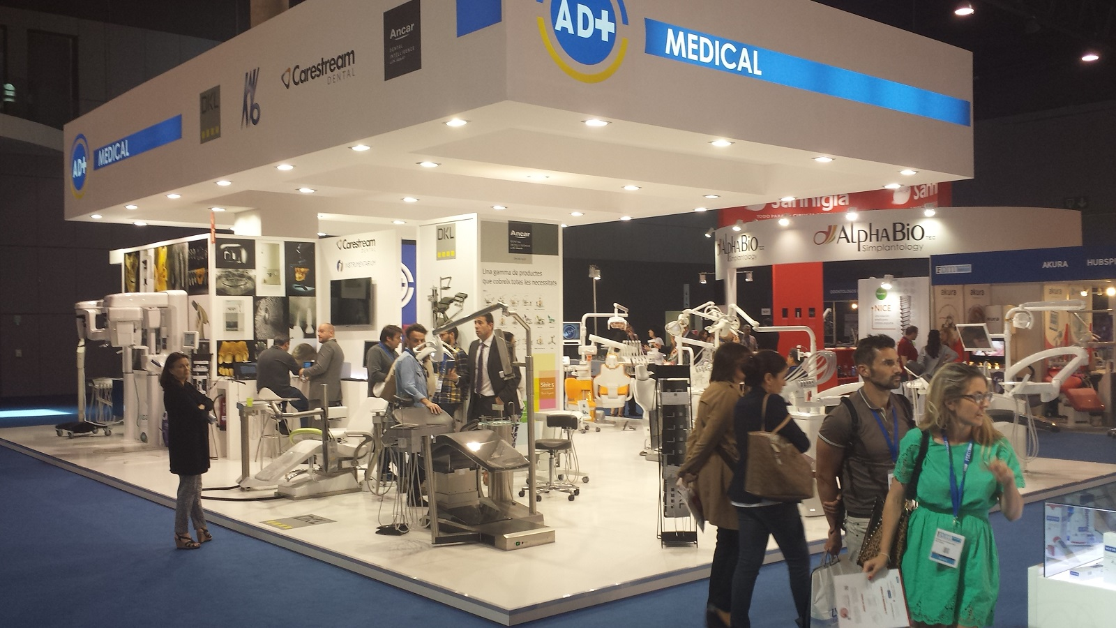 Éxito de AD+ MEDICAL en el FORUM DENTAL 2015