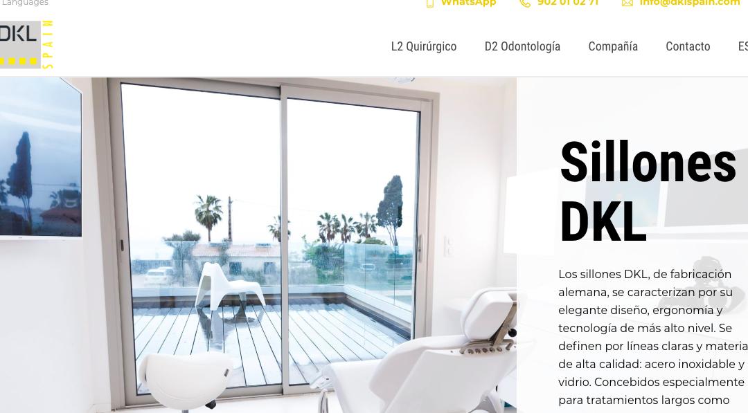 DKL estrena nueva web